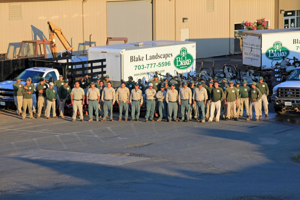 Blake Landscapes foremen and field personnel average more than 10 years with our company.