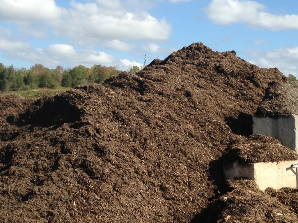 Blake Landscapes has plenty of hardwood mulch in stock as well as color enhanced mulches.
